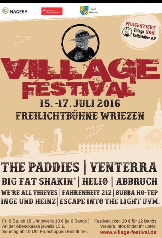 Village Festival Poster